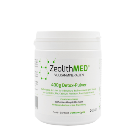 Zeolith MED Detox Pulver 400 g kaufen