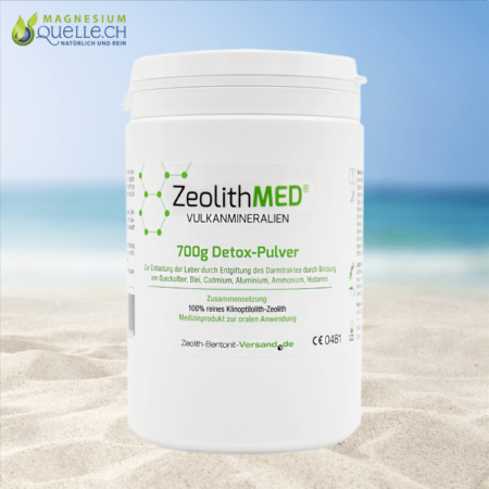 Zeolith MED Detox Pulver 700 g